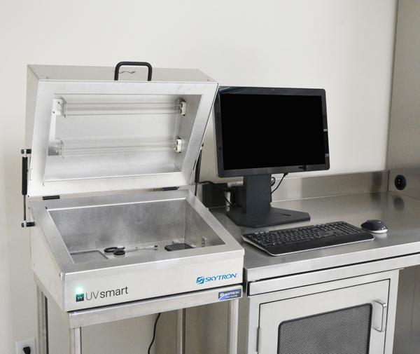 UV Smart at Nurse Documentation Station